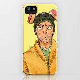 Jesse pinkman!! b*tch!! iPhone Case