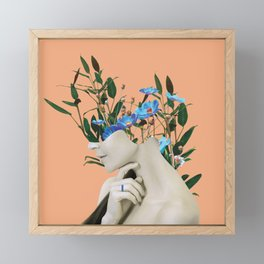 You are natural Framed Mini Art Print