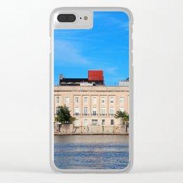 Custom House Clear iPhone Case