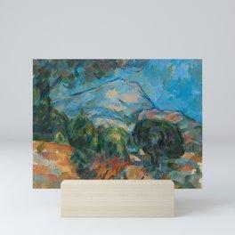 "Paul Cezanne ""Mount Sainte-Victoire"" Mini Art Print"