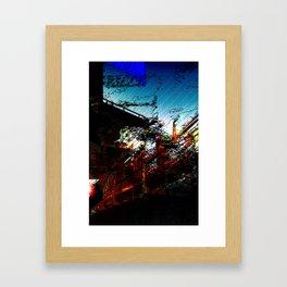 Dissolution of Transit Framed Art Print