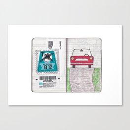 Roadtrip to Austria Canvas Print
