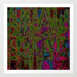 Psych Reversed Art Print
