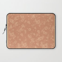 Chestnut Swirls Laptop Sleeve
