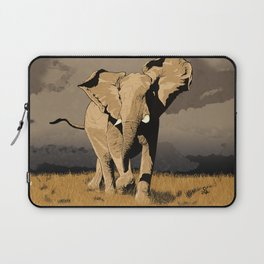 The Elephant's Marching Laptop Sleeve