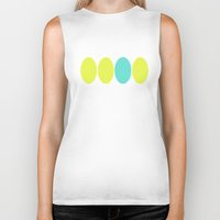 dot Biker Tanks featuring dot. by Bethany Mallick