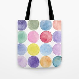 dotted and well organized Tote Bag