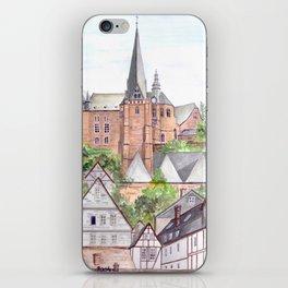Marburg Altstadt iPhone Skin