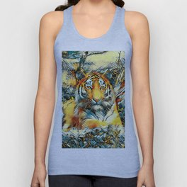 AnimalArt_Tiger_20171202_by_JAMColorsSpecial Unisex Tank Top