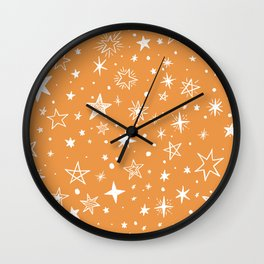 Multiple shapes and sizes stars XIII Wall Clock