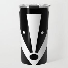 Brock badger Travel Mug