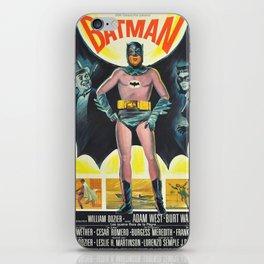 vintage movie poster comics iPhone Skin