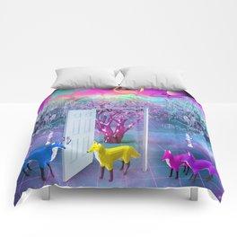 Fox Family Comforters