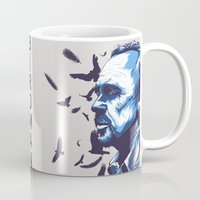 birdman Mugs featuring Daily Film #3 - Birdman by Hyung86