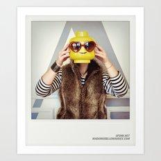 Minifig me ! – Everyone has a LEGO piece inside - 5 Art Print