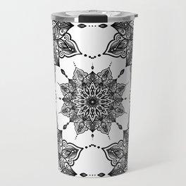 monika's mandala with love Travel Mug