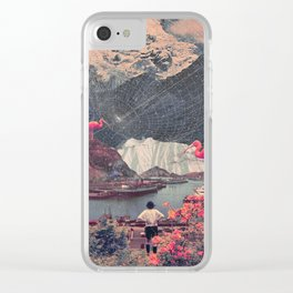 My Choices left me Alone Clear iPhone Case