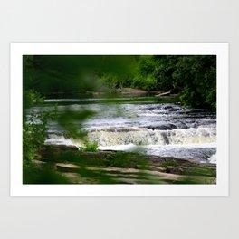 The River Falls! Art Print