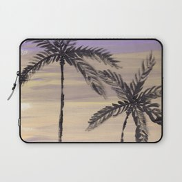 two palm trees euphoric sky Laptop Sleeve
