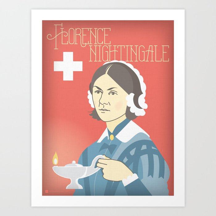 Florence Nightingale Portrait Art Print