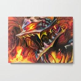Flame berserk Metal Print