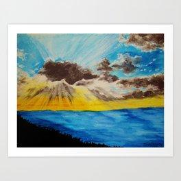 Beach 2 Art Print