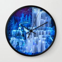 Forest Falls Wall Clock
