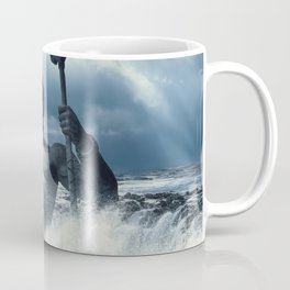 Poseidon - God of Sea Rising Coffee Mug