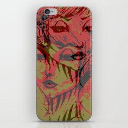 twin demons iPhone Skin