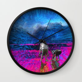 Sister Love Wall Clock