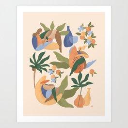 Fruit Cabana Art Print