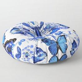 Ultramarine (pattern) Floor Pillow