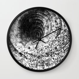 Organic Tunnel Wall Clock