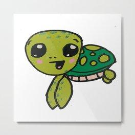 Timmy Turtle Metal Print