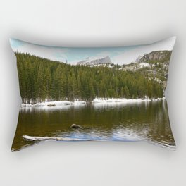 Snow At Bear Lake - Rocky Mountains NP Rectangular Pillow
