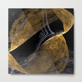 Gold Trap Metal Print