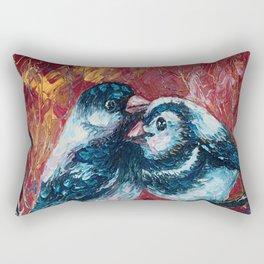 Love Birds by Lena Owens Rectangular Pillow