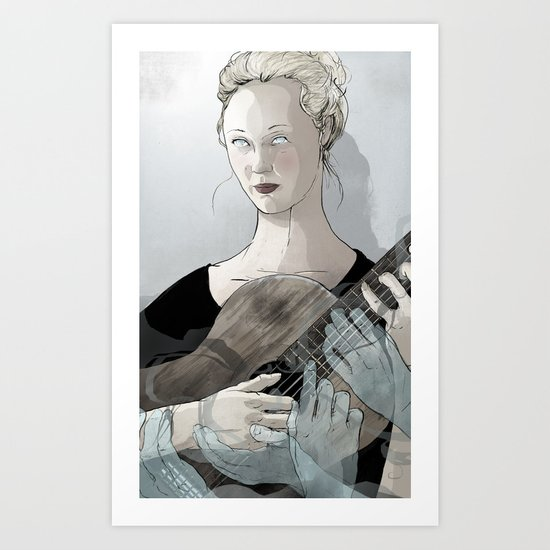 Laura Marling Art Print