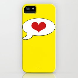 Simple LOVE - Living Hell iPhone Case