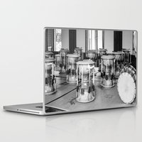 drums Laptop & iPad Skins featuring Traditional Jaangu_Korean Drums by Jennifer Stinson