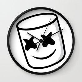 marsmello logo Wall Clock