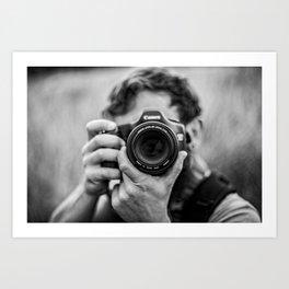 Into The Lens Art Print