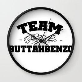 Team Buttahbenzo - Pretty Little Liars (PLL) Wall Clock