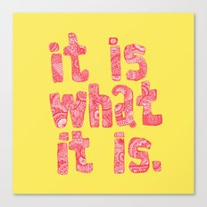 what it is yellow square Canvas Print