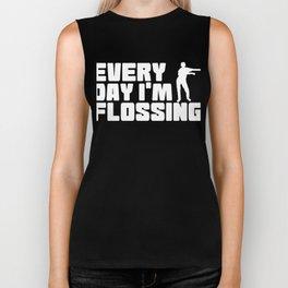 Floss Like A Boss Dance Flossing Dance Shirt Gift Idea Every day I m flossing Biker Tank