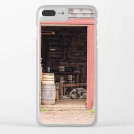 Ross Farm Museum Clear iPhone Case