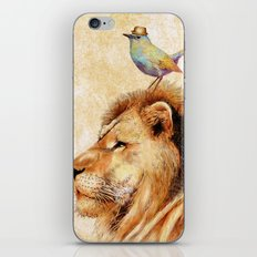 Lion&Bird iPhone & iPod Skin
