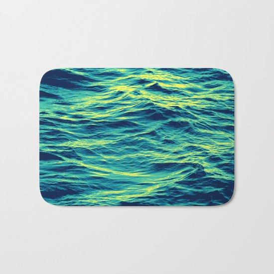 OVER THE OCEAN Bath Mat