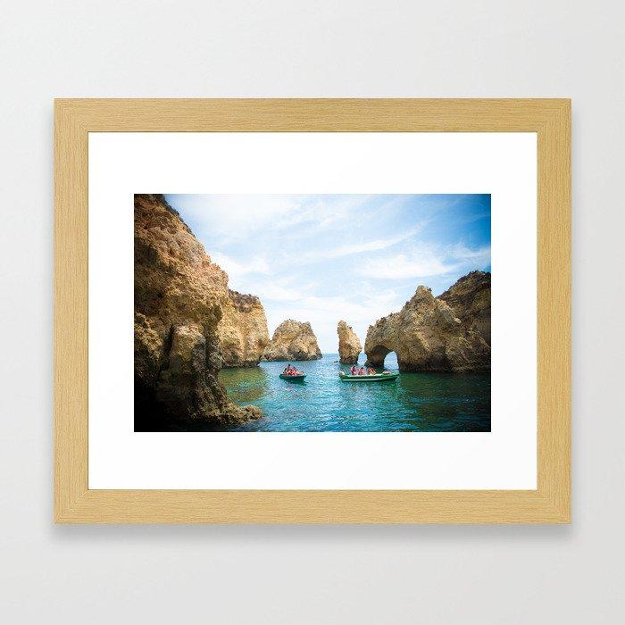 Ponta da Piedade Framed Art Print