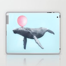 BUBBLEGUM WHALE Laptop & iPad Skin